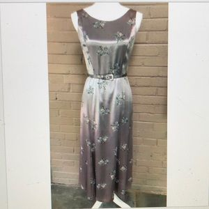 Donna Rocco  Vintage inspired floral print dress